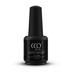 CCO No Wipe Matte Top Coat  (15ml)