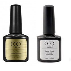 CCO Matte Top and Base Coat Set  (7.3ml)