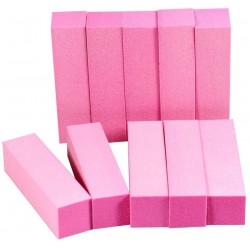 4 Way Pink Sanding Block 100/100 Grit (Pack of 4)