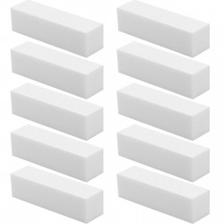 4 Way White Sanding Block 100/100 Grit (Pack of 3)