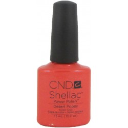 CND Shellac Desert Poppy (7.3ml)