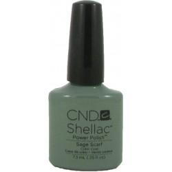 CND Shellac Sage Scarf (7.3ml)