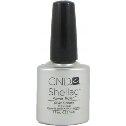 CND Shellac Silver Chrome 7.3ml)