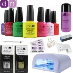 CND Shellac Starter Kit 36W UV Lamp
