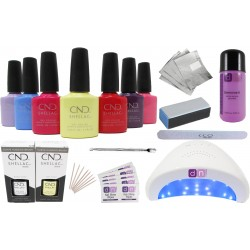 CND Shellac Starter Kit 48W LED Lamp