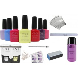 CND Shellac Starter Kit WITHOUT Lamp