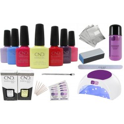 CND Shellac Starter Kit 48W PRO LED Lamp