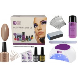 Field Fox Deluxe 1 Colour Nail Gel Kit With Choice of Lamp