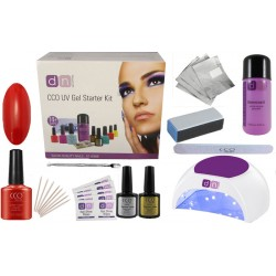 Wildfire Deluxe 1 Colour Nail Gel Kit With Choice of Lamp