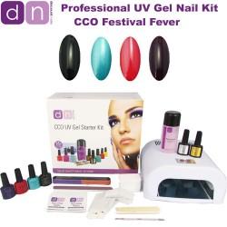Festival Fever - CCO Professional 4 Colour UV Gel Nail Starter Kit