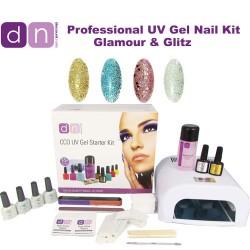 Glamour & Glitz - CCO Professional 4 Colour UV Gel Nail Starter Kit
