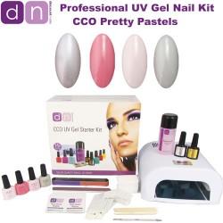 Pretty Pastels - CCO Professional 4 Colour UV Gel Nail Starter Kit