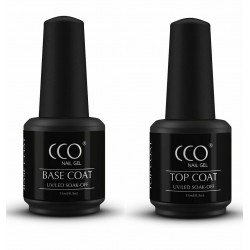 CCO Top and Base Coat Set  (15ml)